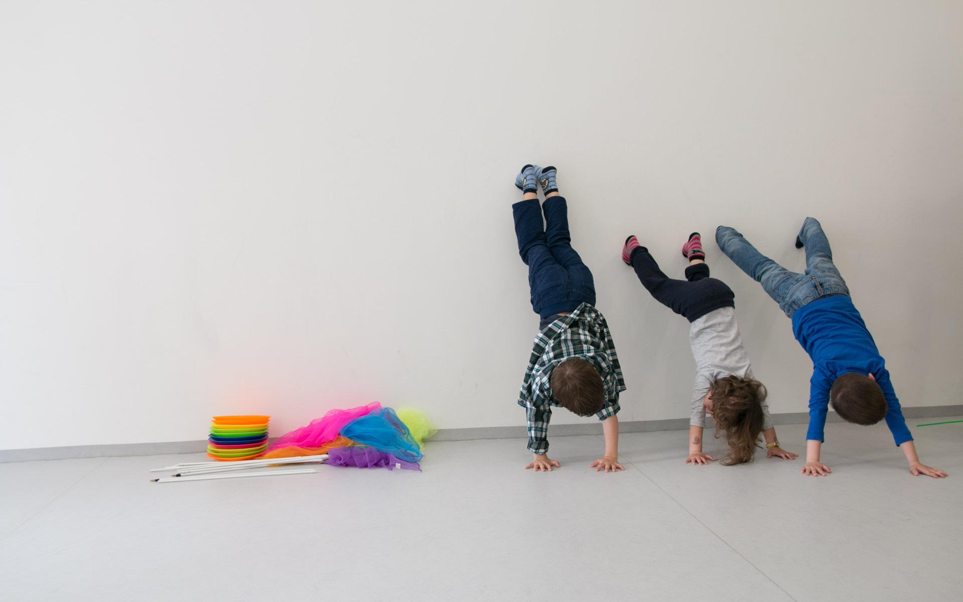 Corsi di circo motricità per bambini dai 3 ai 5 anni